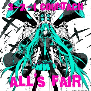 3-2-1 Countach - All's Fair [front cover art small]